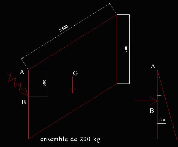 calcul de force m canique exercice de sciences physiques. Black Bedroom Furniture Sets. Home Design Ideas