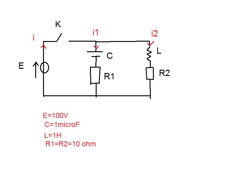 exercice  u00e9lectrocinetique circuit rlc parallele   exercice de sciences physiques de maths sup