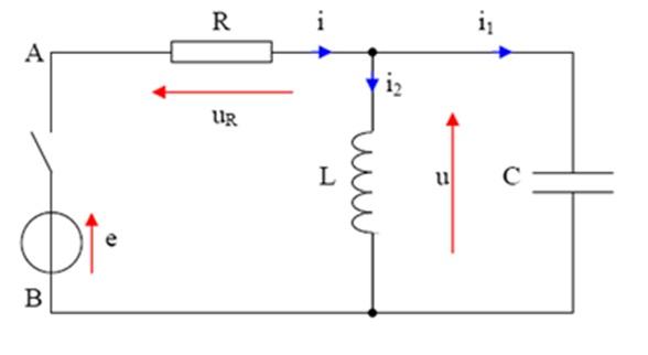 r u00e9gime transitoire  circuit rlc  exercice de physique