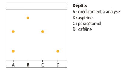Identification par ccm de principes actifs exercice de - Chromatographie sur couche mince principe ...