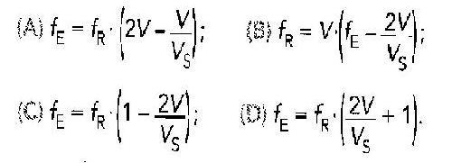 formule doppler